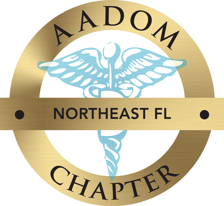 The AADOM Northeast Florida Chapter official logo